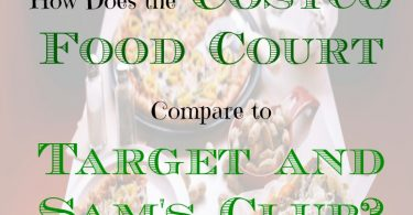 costco food vs target food, food court, grocery food court