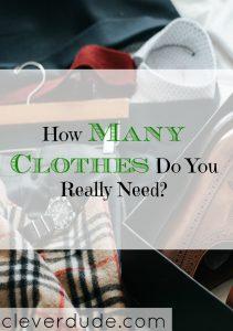 how many clothes do you really need
