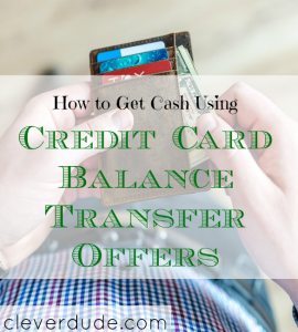 cashback tips, credit card balance transfer tips, balance transfer offers