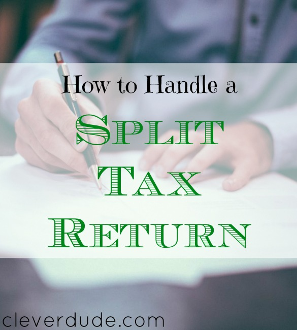 tax tips, split tax return advice, split tax tips