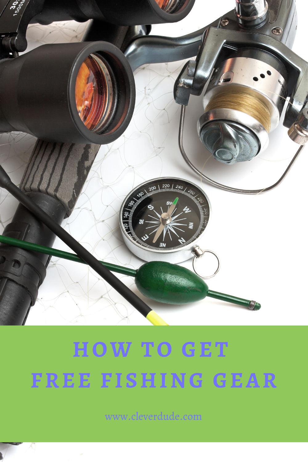 How to Get Free Fishing Gear