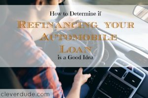 auto loan refinancing, vehicle refinancing, automobile refinancing