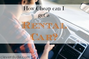 rental car, cheap rental car, inexpensive rental car