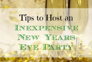 frugal new year's party, affordable new year's party. inexpensive new year's party