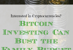 bitcoin investing tips, busting the budget, bitcoin