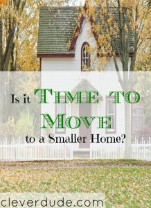 moving to a smaller home, smaller home, moving out