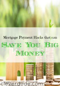 paying down mortgage