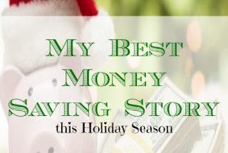 money saving story, holiday season saving story, money saving advice