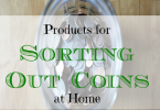 sorting coins, how to sort coins, tips on sorting coins