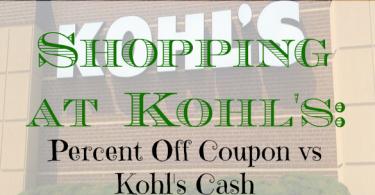 kohl's, shopping at kohl's, shopping tips