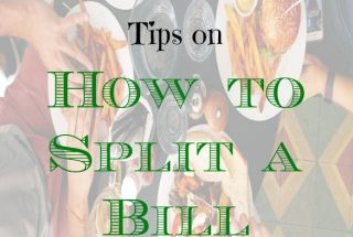 restaurant etiquette, eating out tips, splitting a restaurant bill
