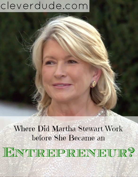 Martha Stewart, beginnings of Martha Stewart