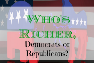 democrats, republicans, who's richer, American political parties