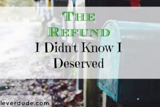 refund, surprise money, extra money