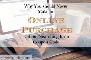 online purchasing tips, online purchasing advice, online coupon codes