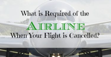 airline policies, flight cancelled policies, airline flight cancellation policies