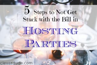 hosting parties, party tips, hosting tips