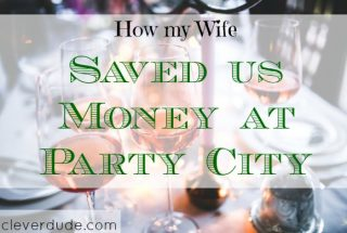 party city, saving money on party stuff, frugal party shopping
