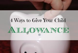 parenting tips, giving allowance to children, children's allowance