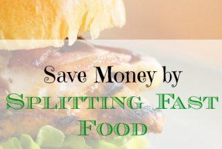 save money on fast food, fast food hacks, frugal eating