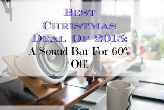 christmas deal, sound bar, christmas promo