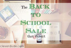 back to school sale, school sale, sale items