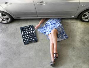 girl auto repair