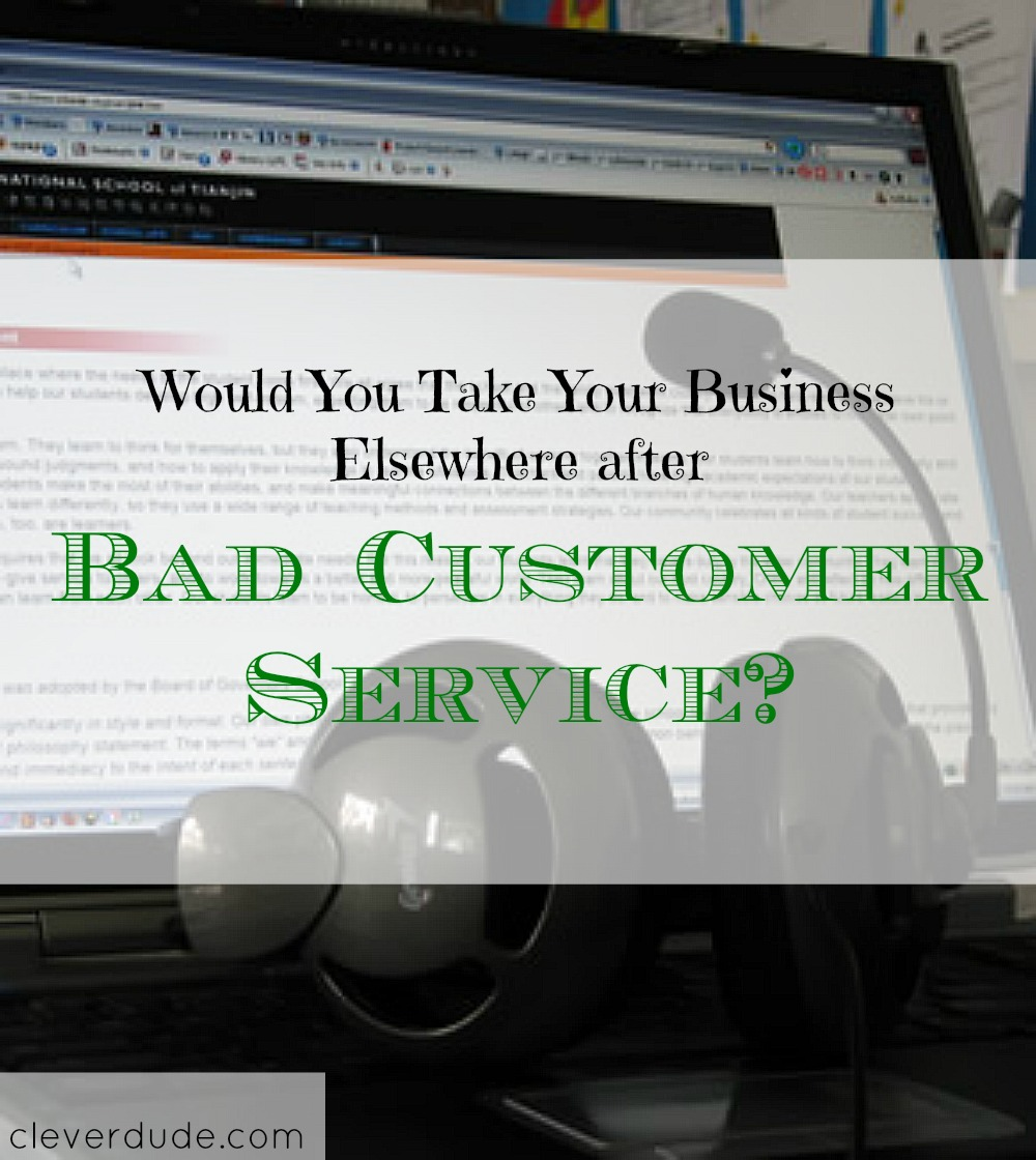 bad customer service experience, service industry, customer experience