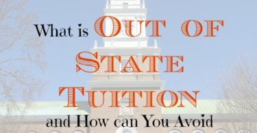 out of state tuition, going to college tips, preparing for college