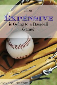 baseball game, baseball expenses, baseball