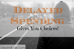 delayed spending, allocated funds, unexpected expenses