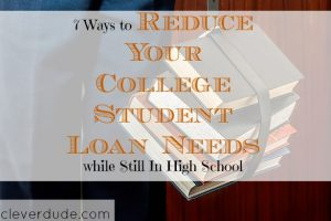 reduce student loans, reduce college student loans, reducing student debt