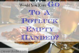 potluck tips, potluck, party tips