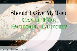 lunch budget, parenting tips, teenager advice