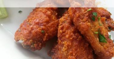 wasting chicken wings, wasting food, food waste