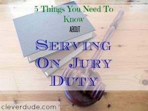 jury duty, serving the country, called for jury