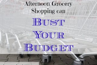 grocery shopping, busting your budget, budget advice