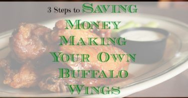 homemade buffalo wings, make your own buffalo wings, football season finger food