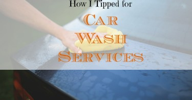 car wash tipping, tipping etiquette, giving tips for services