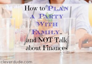 party planning, party planning tips, planning a party with the family