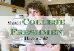 college freshmen tips, college freshmen advice, getting a job while in college