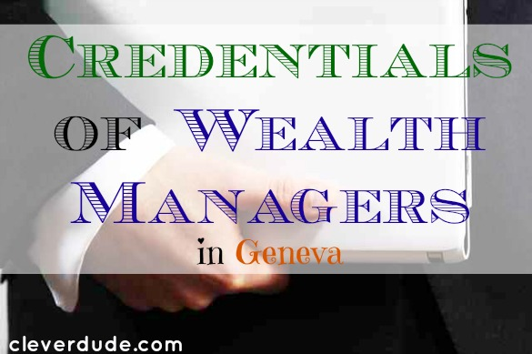 wealth managers, credentials, banking