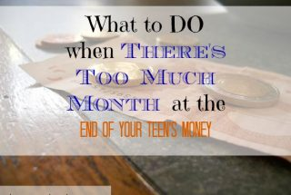 parenting advice, teens and money, teenager tips