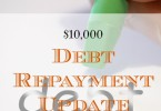 debt repayment update, paying off debt, debt pay off