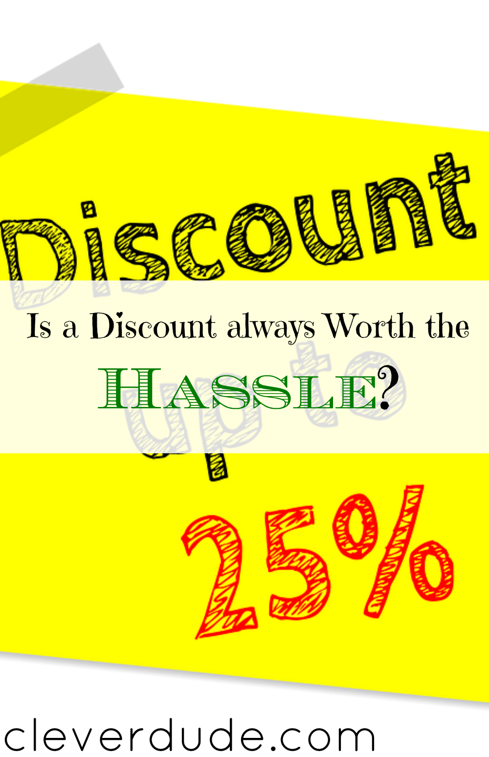 getting discounts, discount tips, discounts advice