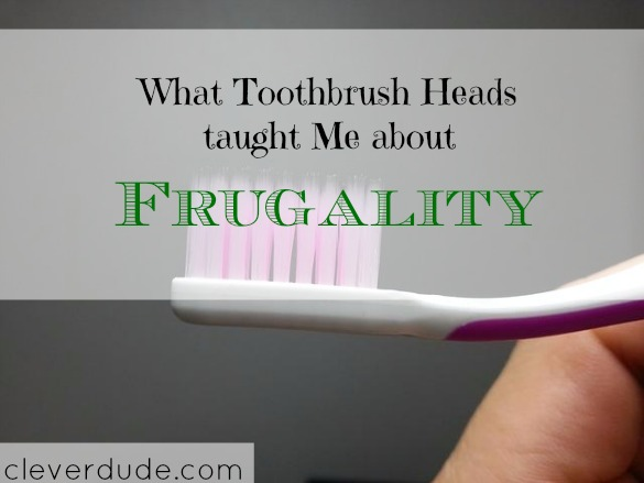 frugality, frugal tips, toothbrush shopping