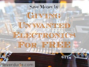saving money, giveaway, electronics exchange