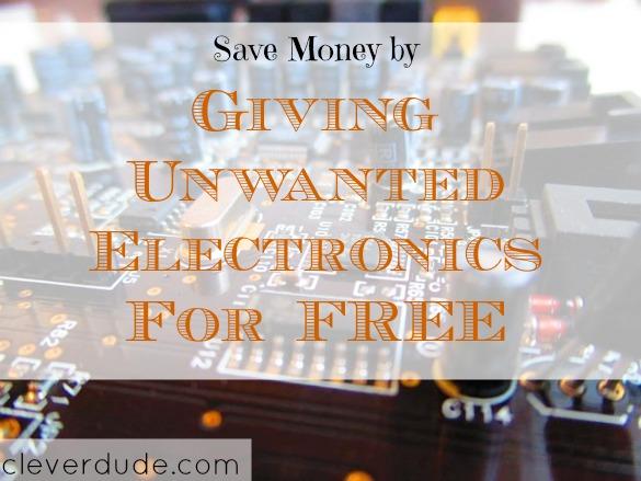 saving money, giveaway, electronics exchange