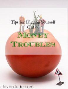 money trouble, money advice, money tips
