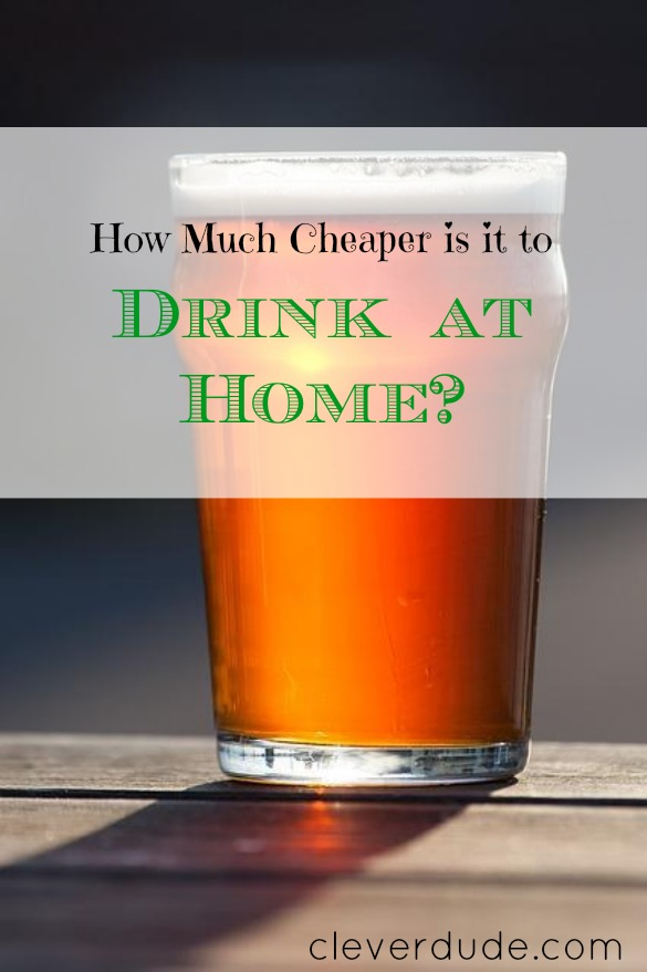 drinking at home, frugal living, drinks at home
